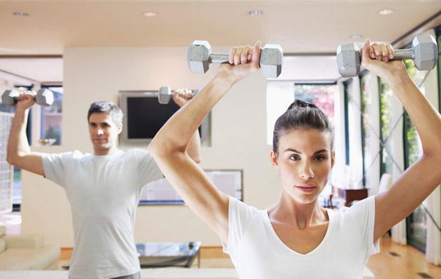 Vežbanje kod kuće1